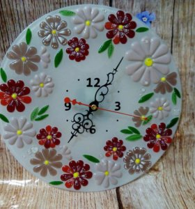 Часы из стекла от прямого прозводителя