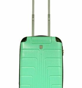 Пластиковый чемодан Luyida бирюзовый L, Шоу-Рум
