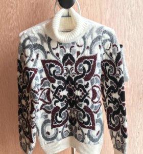 Шерстяной плотный свитер Pulltonic размера S