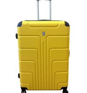 Пластиковый чемодан Luyida желтый L, Шоу-Рум
