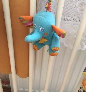 Погремушка-слоник