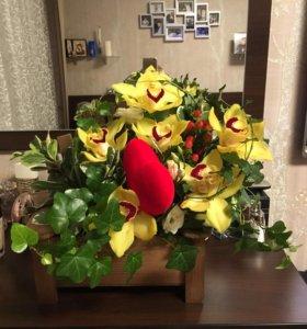 Корзинки для цветочных композиций