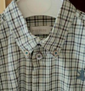 Рубашка для мальчика 86 р-р