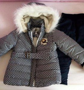 Костюм утеплённый куртка и брюки