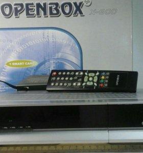 СПУТНИКОВЫЙ РЕСИВЕР ( ТЮНЕР ), OPENBOX - X - 800