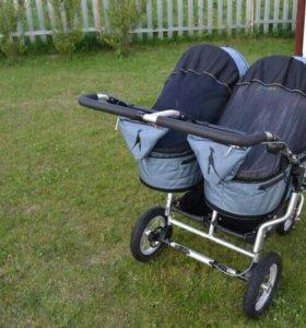 Детская коляска Tfk для двойни производство Герман