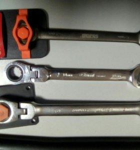 Ключи с трещеткой