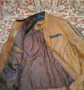 Куртки муж.натуральная кожа