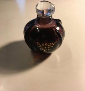 Духи Dior Poison esprit de Parfum Винтаж