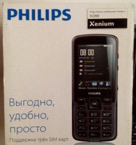 """Телефон """"Philips""""."""