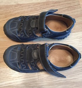 Детские сандали кожа