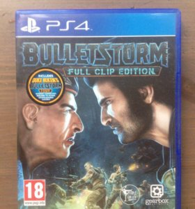 Bulletstorm Full Clip Edition для PS4