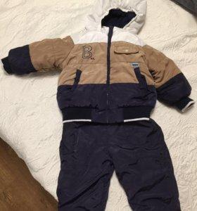 Зимний комплект комбинезон и куртка