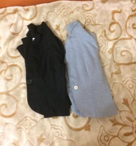 Пиджаки 8-10 лет