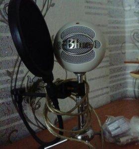 USB- кардиоидный микрофон Blue