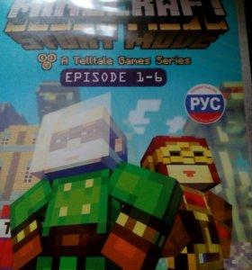Компьютерная игра minecraft story mode episode 1-6