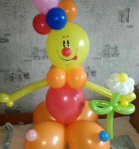 Смалик клоун с ромащкоц