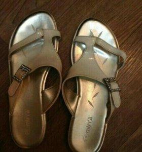 Тапочки сандалии слипоны