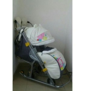 Санки-коляска Ника 7-2