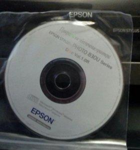 Принтер epson 830u