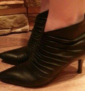 Ботинки ,р-38 ( натуральная кожа )