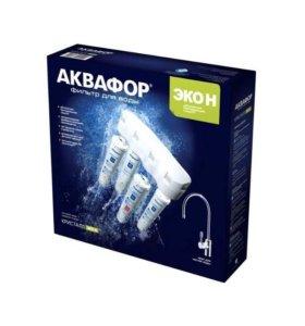 Фильтр для очистки воды Кристалл ЭКО-Н Аквафор