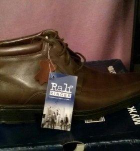 Мужские ботинки ralf ringer зима новые
