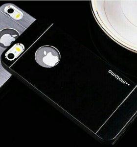 Чехлы из металла Light на iPhone 5S