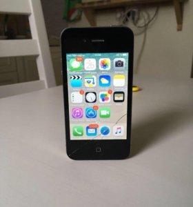 iPhone 4 s 16 + даром чехол/книга