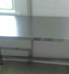 Стол из нержавеющей стали 180/80