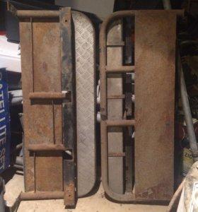 Пороги подножки для УАЗ Hunter, 469