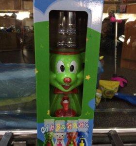 Кулер детский новый для воды и сока
