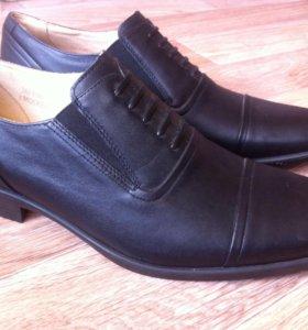 Новые мужские ботинки Фарадей,натуральная кожа