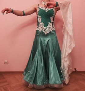 Платье для бальных танцев стандарт