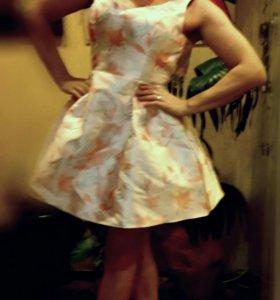 Платье шелк новое, р 42-44