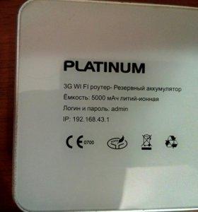 3G WiFi роутер - резервный аккумулятор