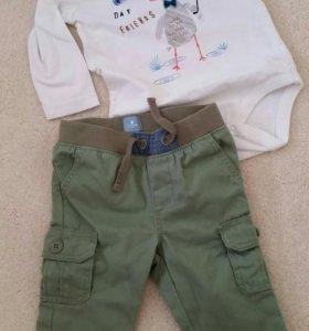 Комплект Gap боди +штаны
