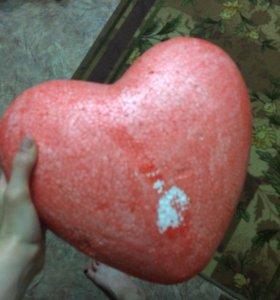 Сердечко из пенопласта