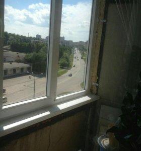 Пластиковые окна балконные рамы
