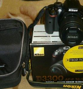 Зеркальная фотоаппарат D3300 KIT