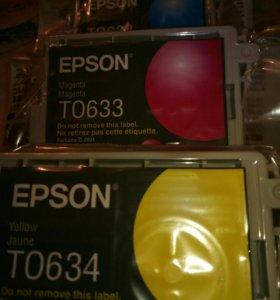 Картриджи Epson T0635