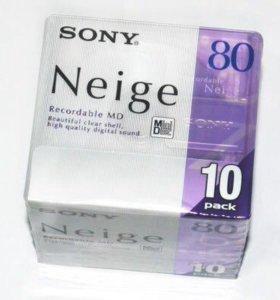 Мини Диски Sony Neige 80