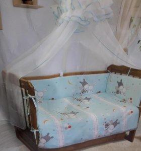 Балдахин для детской кроватки без держателя