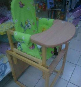Новые стол- стул для кормления