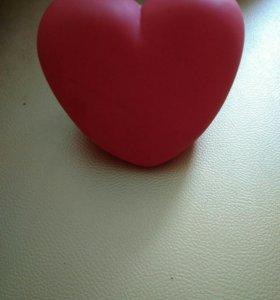 Ночник сердечко