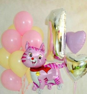 Фольгированные шары, гелиевые шары, шары-цифры