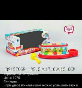 "Развивающая игрушка ""Зверята"" 900305 в коробке, на"