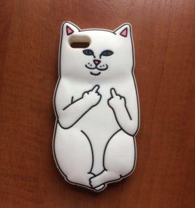 Кот который показывает средний палец