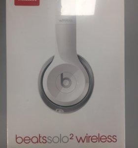 Беспроводные наушники Beats solo 2 wireless белые