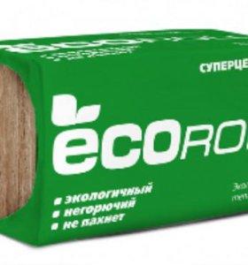 Минераловатный утеплитель ECOroll (ТеплоKnauf)